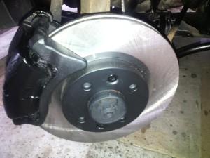 brzdy po opravě