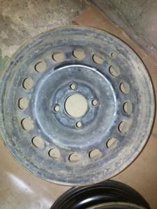 disk před lakováním